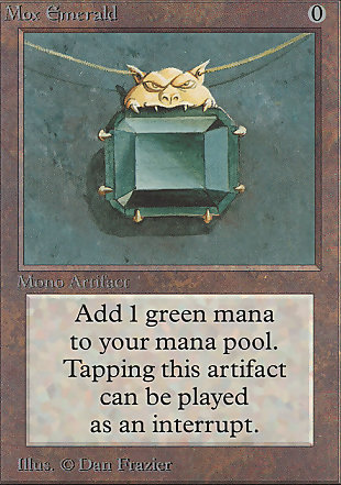 image of card Mox Emerald
