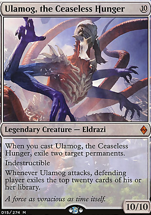 image of card Ulamog, the Ceaseless Hunger