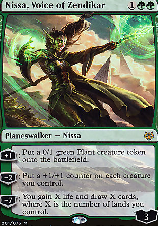 image of card Nissa, Voice of Zendikar