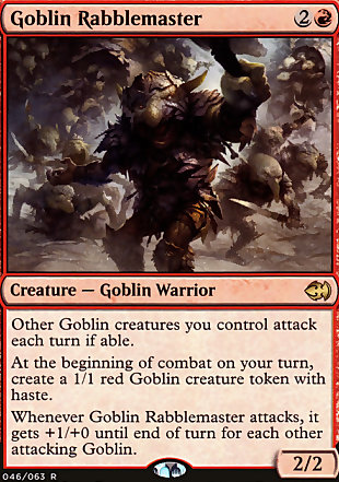 image of card Goblin Rabblemaster