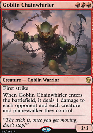 image of card Goblin Chainwhirler