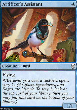 image of card Artificer's Assistant