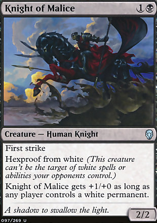 image of card Knight of Malice