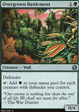 image of card Overgrown Battlement