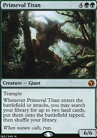 image of card Primeval Titan