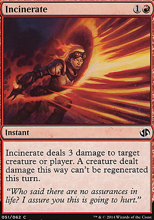 image of card Incinerate