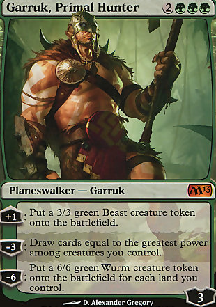 image of card Garruk, Primal Hunter