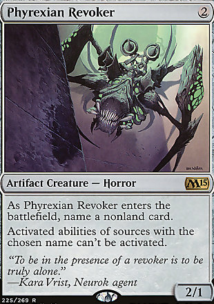 image of card Phyrexian Revoker
