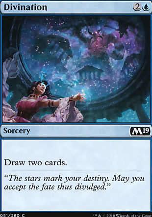 image of card Divination