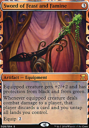 image of card Sword of Feast and Famine