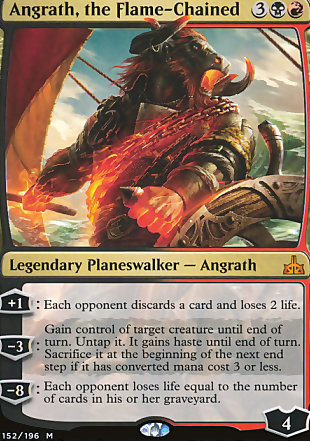 image of card Angrath, the Flame-Chained