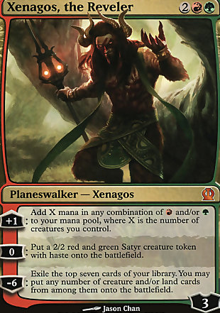 image of card Xenagos, the Reveler