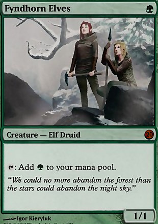 image of card Fyndhorn Elves