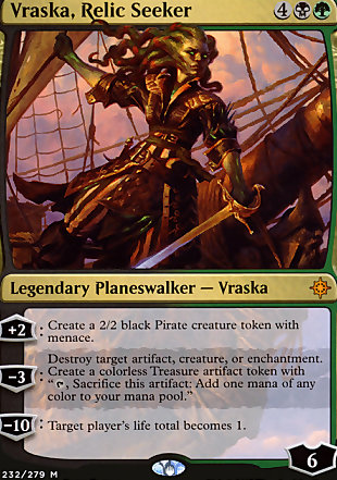 image of card Vraska, Relic Seeker