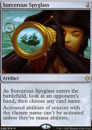 image of card Sorcerous Spyglass