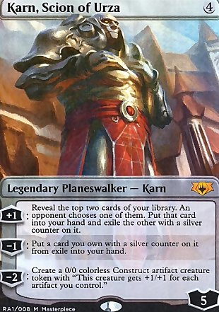 image of card Karn, Scion of Urza