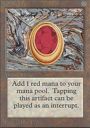image of card Mox Ruby