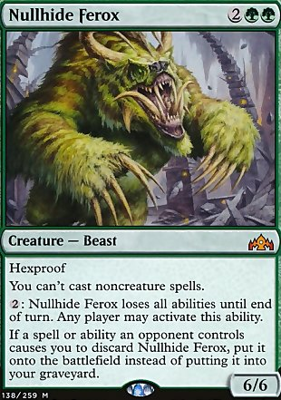 image of card Nullhide Ferox