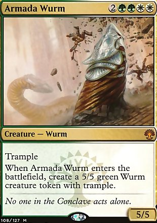 Matches with Armada Wurm - Modern legality