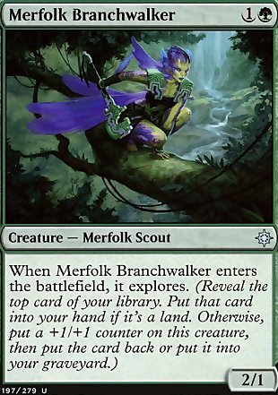 image of card Merfolk Branchwalker