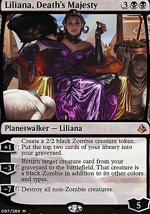 image of card Liliana, Death's Majesty