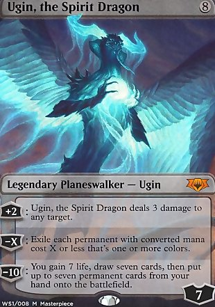 image of card Ugin, the Spirit Dragon