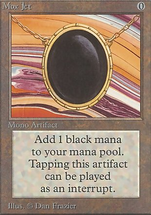 image of card Mox Jet