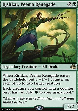image of card Rishkar, Peema Renegade