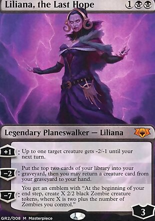 image of card Liliana, the Last Hope