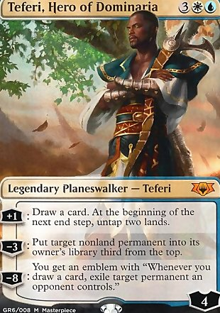 image of card Teferi, Hero of Dominaria