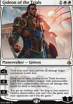 image of card Gideon of the Trials