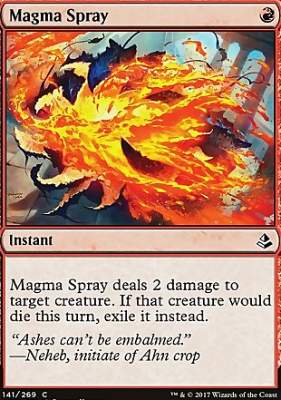 image of card Magma Spray