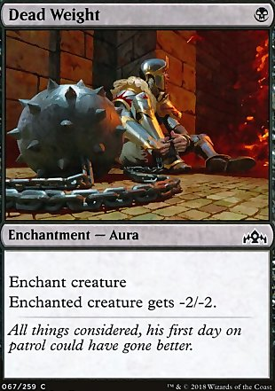 image of card Dead Weight