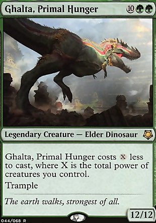 image of card Ghalta, Primal Hunger