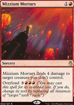 image of card Mizzium Mortars
