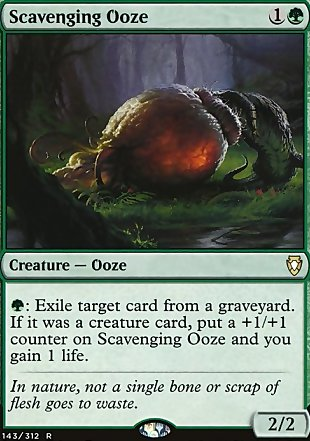 image of card Scavenging Ooze