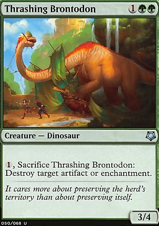 image of card Thrashing Brontodon