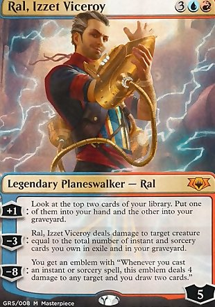 image of card Ral, Izzet Viceroy