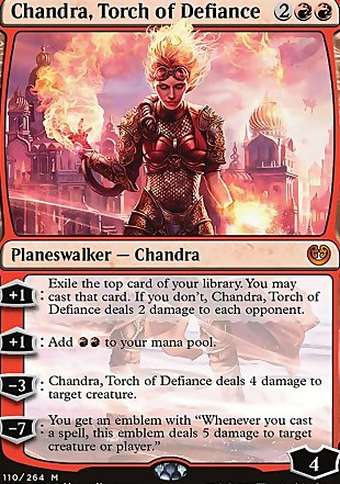 image of card Chandra, Torch of Defiance