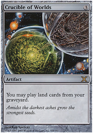 image of card Crucible of Worlds