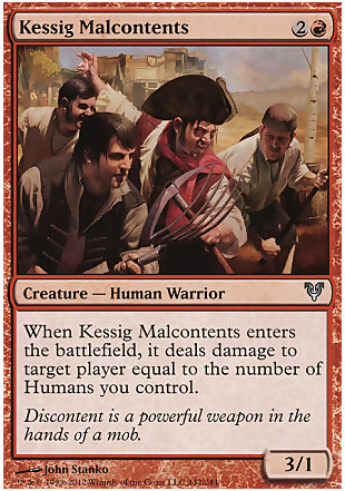 image of card Kessig Malcontents