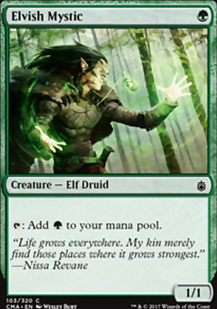 image of card Elvish Mystic