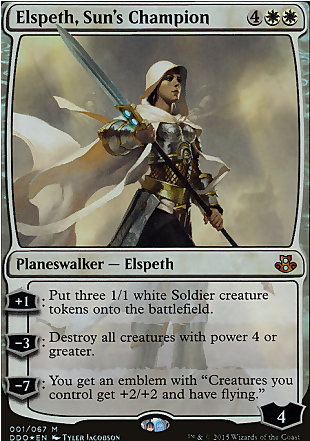 image of card Elspeth, Sun's Champion