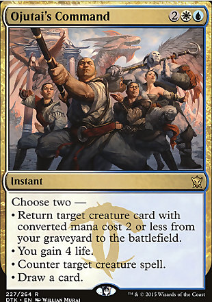 image of card Ojutai's Command