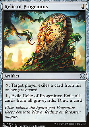 image of card Relic of Progenitus
