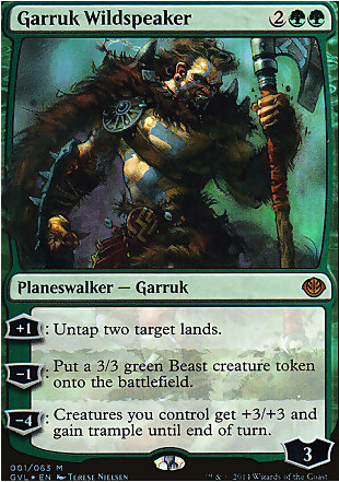 image of card Garruk Wildspeaker
