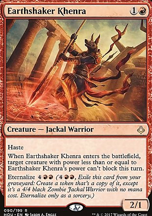 image of card Earthshaker Khenra