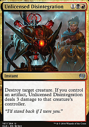 image of card Unlicensed Disintegration