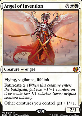 image of card Angel of Invention