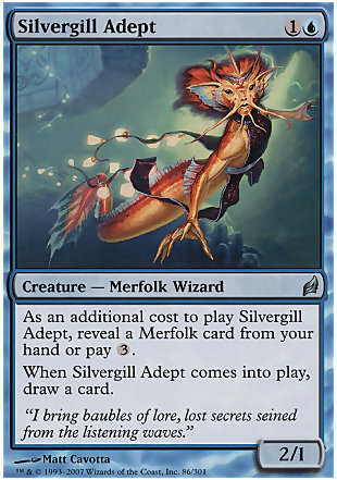 image of card Silvergill Adept